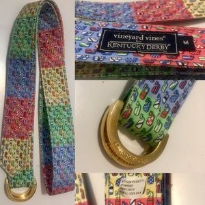 Vineyard Vines (for Kentucky Derby) 100% silk belt